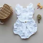 baby white linen