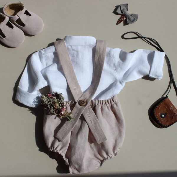 girls linen shirt