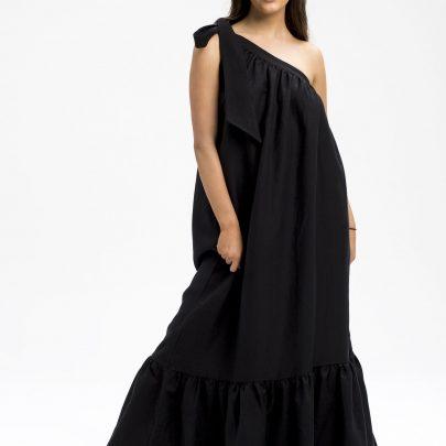 Sandrine linen maxi dress